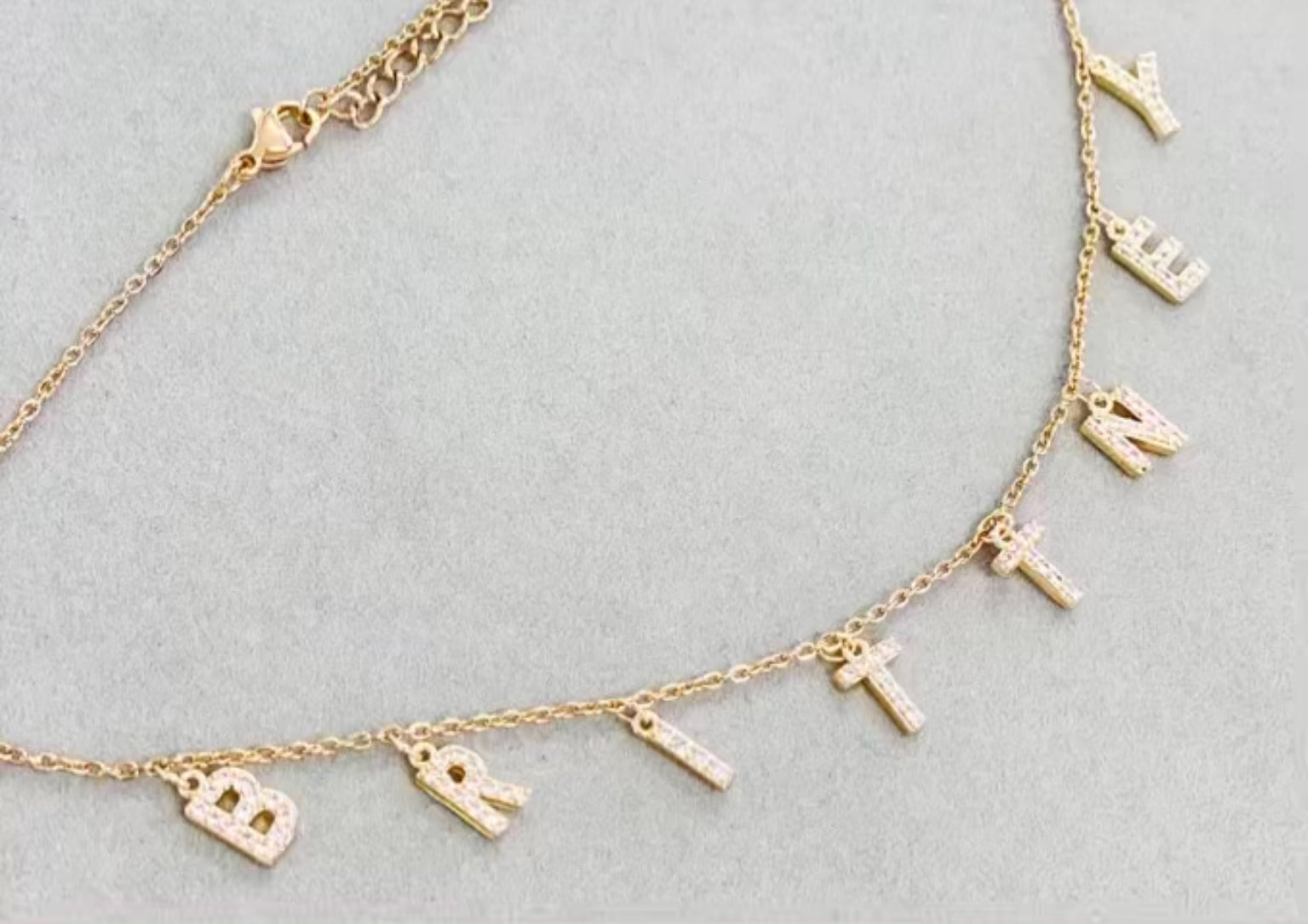 Charm Chain Necklace | Gold