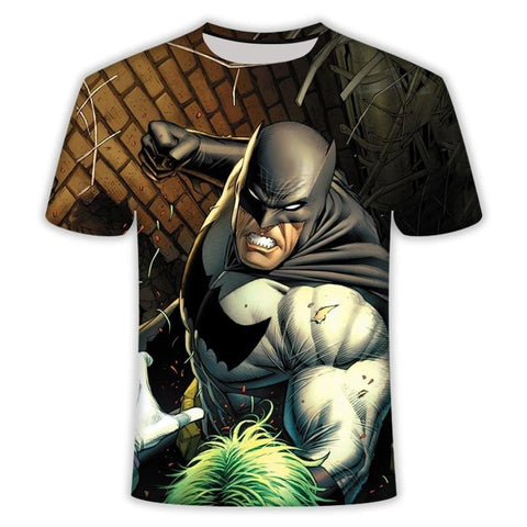 T-Shirt Batman<br>Vs Joker - Batman-Shop