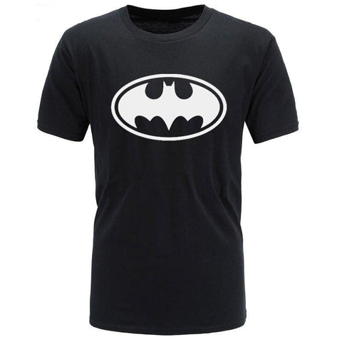 T-Shirt Batman<br>Noir - Batman-Shop
