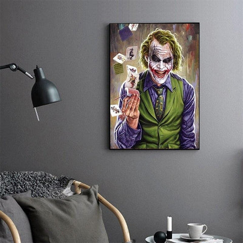 Tableau Batman<br>Dc Joker - Batman-Shop