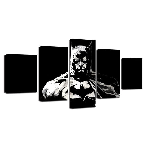 Tableau Batman<br>Noir - Batman-Shop