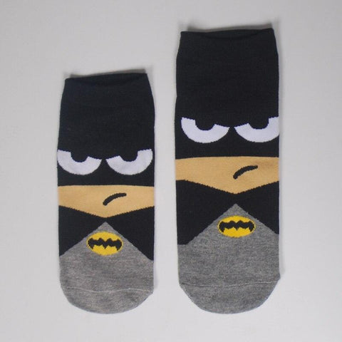 Chaussette Batman<br>Dessin Animée - Batman-Shop