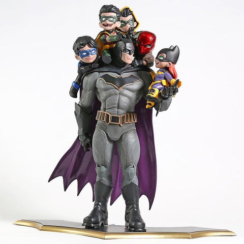 Figurine Batman<br>en Famille - Batman-Shop