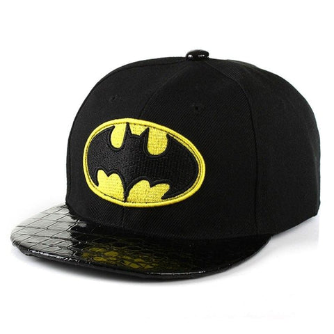 Casquette Batman<br>Cuir - Batman-Shop