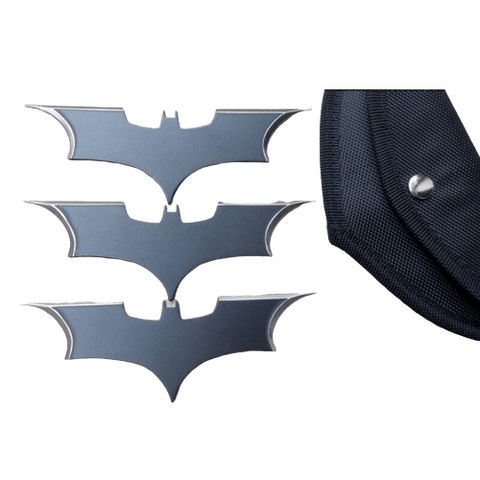 Batarang Batman<br>3 Pièces - Batman-Shop
