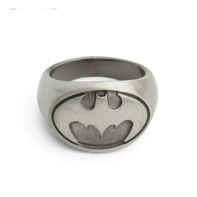 Bague Batman<br>Grise - Batman-Shop