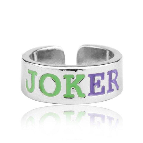 Bague Batman<br>Joker - Batman-Shop