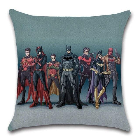 Coussin Batman<br>Team - Batman-Shop