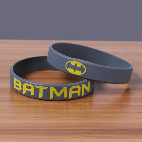 Bracelet Batman<br>Silicone - Batman-Shop