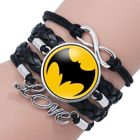 Bracelet Batman<br>Love - Batman-Shop