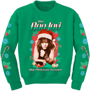 The Bon Jovi Ugly Christmas Sweater
