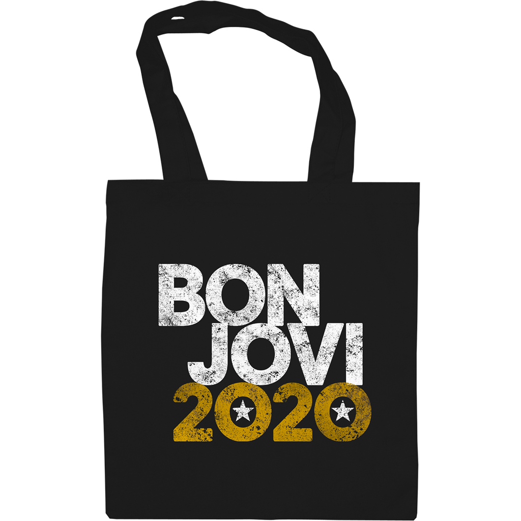 Bon Jovi 2020 Tote Bag Black