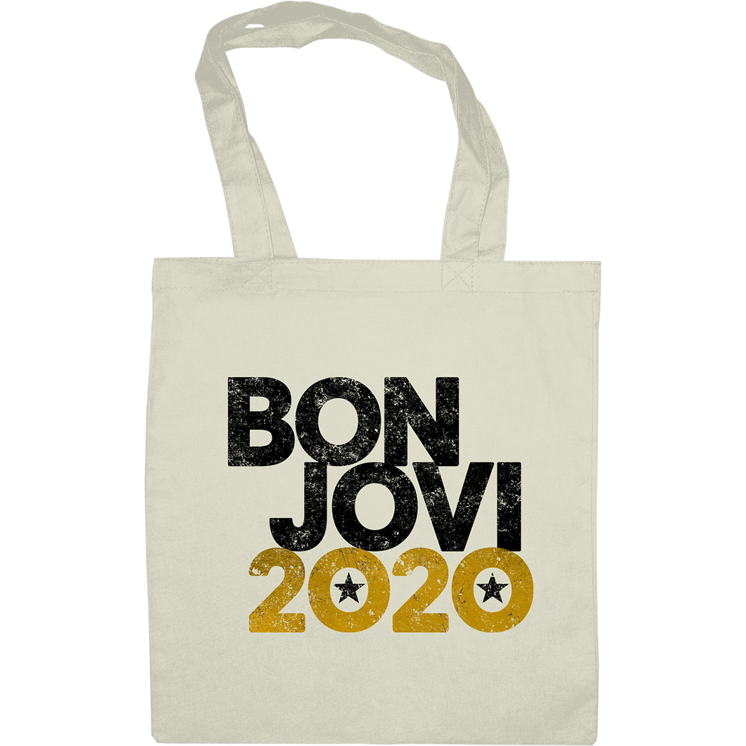 Bon Jovi 2020 Tote Bag Natural