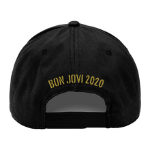 Load image into Gallery viewer, Bon Jovi Do What You Can Black/Gold Cap