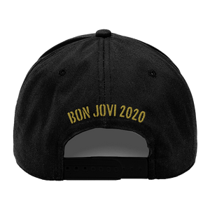 Bon Jovi Do What You Can Black/Gold Cap
