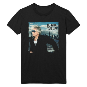Bon Jovi Do What You Can Portrait Tee + Digital Album