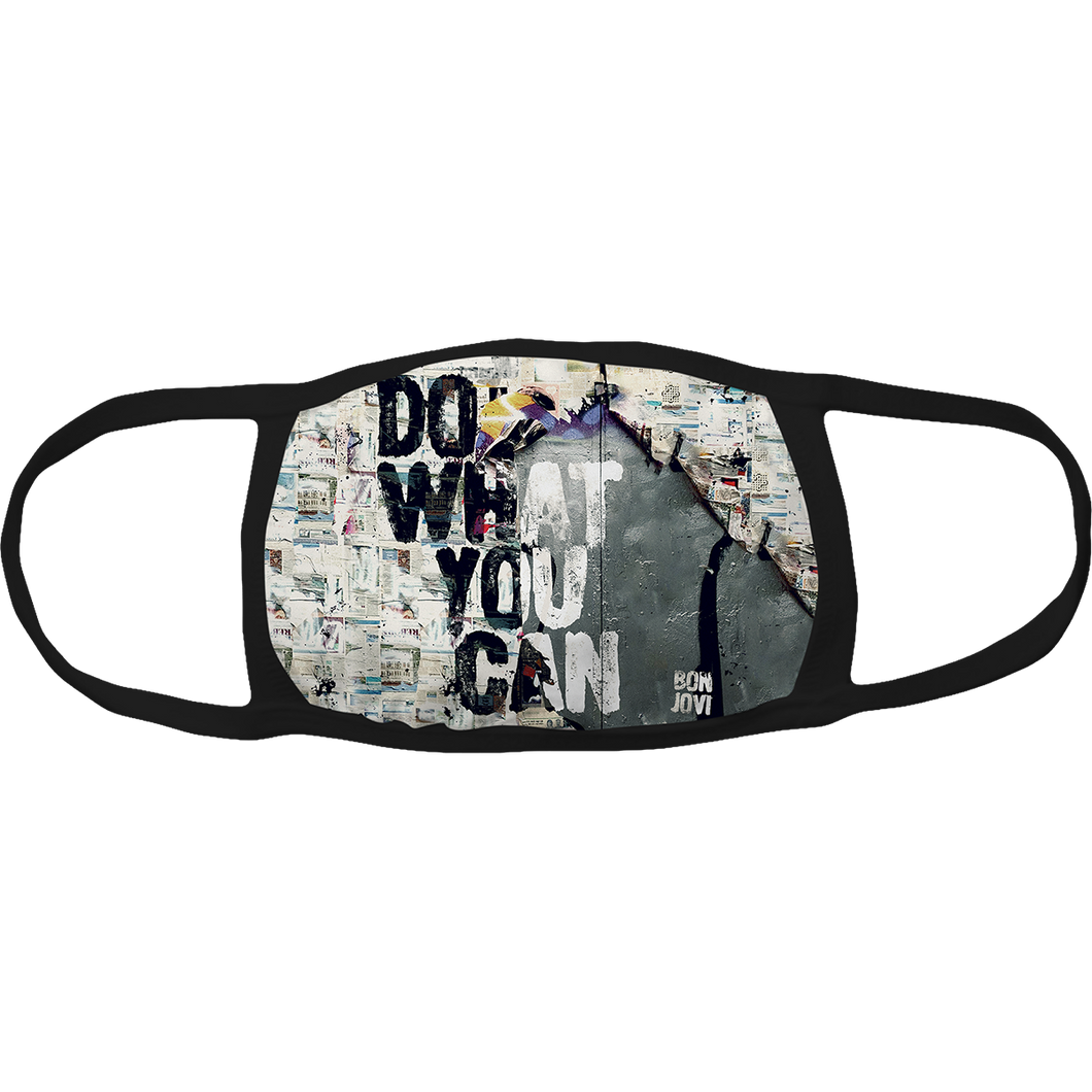 Bon Jovi Do What You Can Album Cover Mask