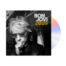 Load image into Gallery viewer, Bon Jovi 2020 Black Hoodie + Album