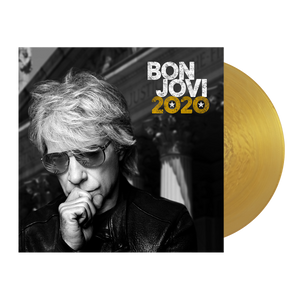 Bon Jovi 2020 Stars & Stripes Navy Tee + Album
