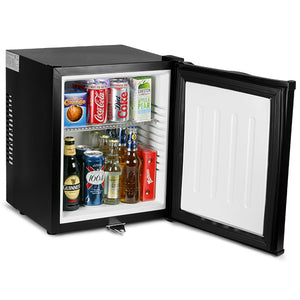 Mini Black Bar Fridge - ChillQuiet Silent