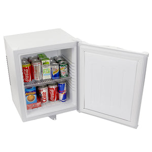 Mini White Bar Fridge - ChillQuiet Silent