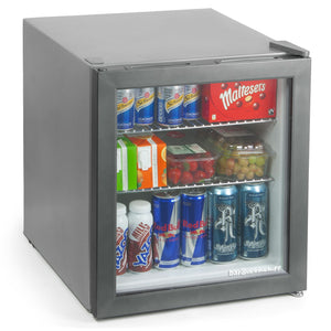Mini Fridge - Silver