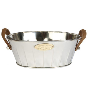 Champagne Bath - Leather Handled