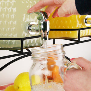 Triple Drinks Dispenser -  12ltr with stand