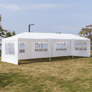 Two Doors Waterproof Tent with Spiral Tubes - 3 x 9m Eight Sides