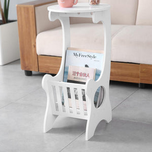 Modern Round Table - White - Home Happy Hour
