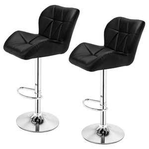 Two piece modern bar stools