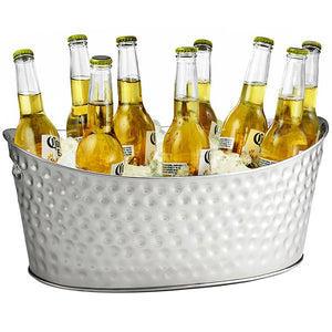 Oval Drinks Tub - Stainless Steel
