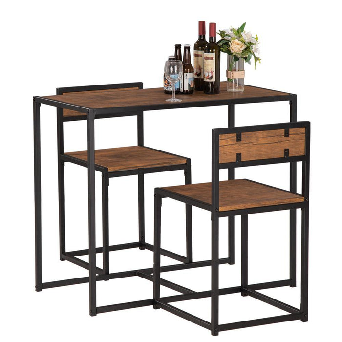 Bar Set - Elm Wood