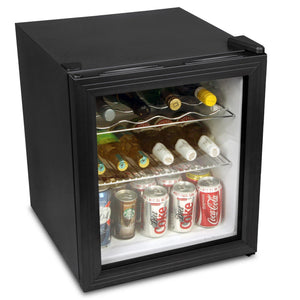 Mini Wine Fridge Black - Home Happy Hour