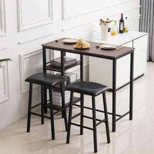 Bar Set - PVC Wood Grain Three-Layer - Home Happy Hour