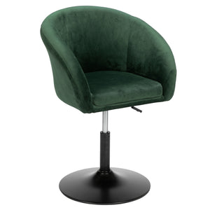Adjustable Bar Chair - Dark Green