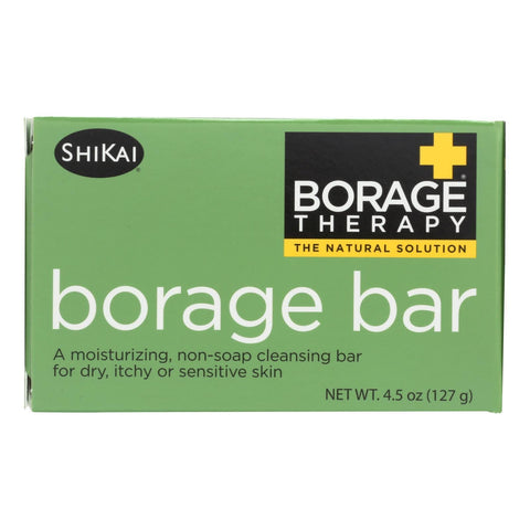 Shikai Products Cleansing Bar - Non Soap - Borage - 4.5 oz - FLJ CORPORATIONS