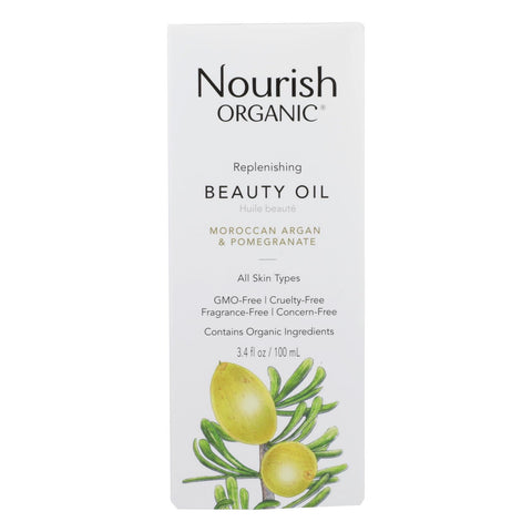 Nourish Organic Argan Oil - Replenishing Multi Purpose - 3.4 oz - FLJ CORPORATIONS