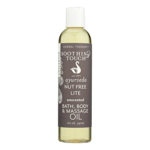 Soothing Touch Massage Oil - Nut Free - 8 oz - FLJ CORPORATIONS