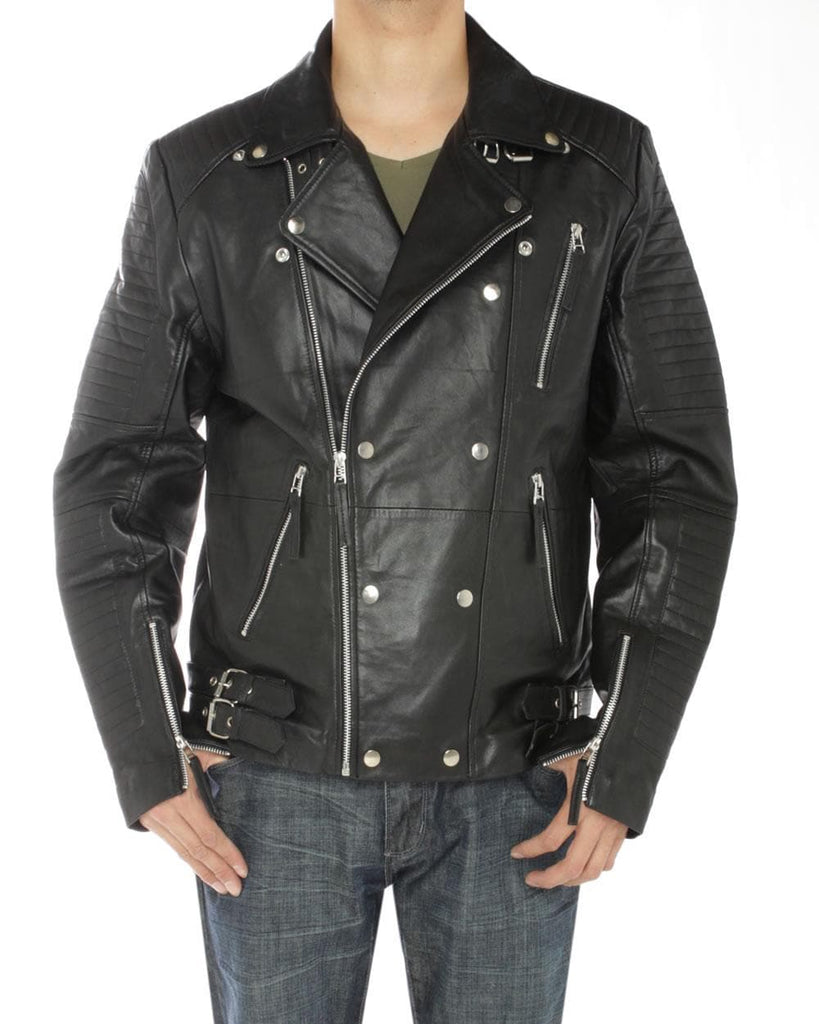Leather Designer Moto Biker Jacket - FLJ CORPORATIONS