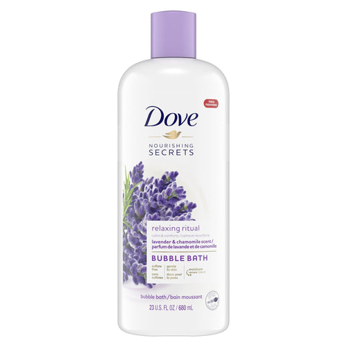 Dove Nourishing Secrets Bubble Bath Lavender and Chamomile 23 oz - FLJ CORPORATIONS