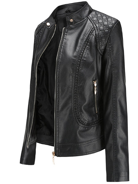 Women's  Leather Motorcycle  Jackets - FLJ CORPORATIONS