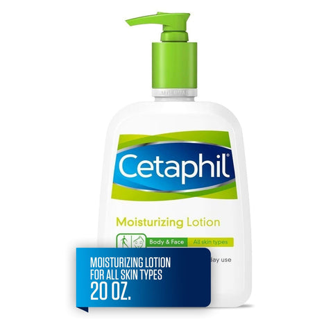 Cetaphil Moisturizing Lotion for All Skin Types, Fragrance-Free, 20 fl oz - FLJ CORPORATIONS
