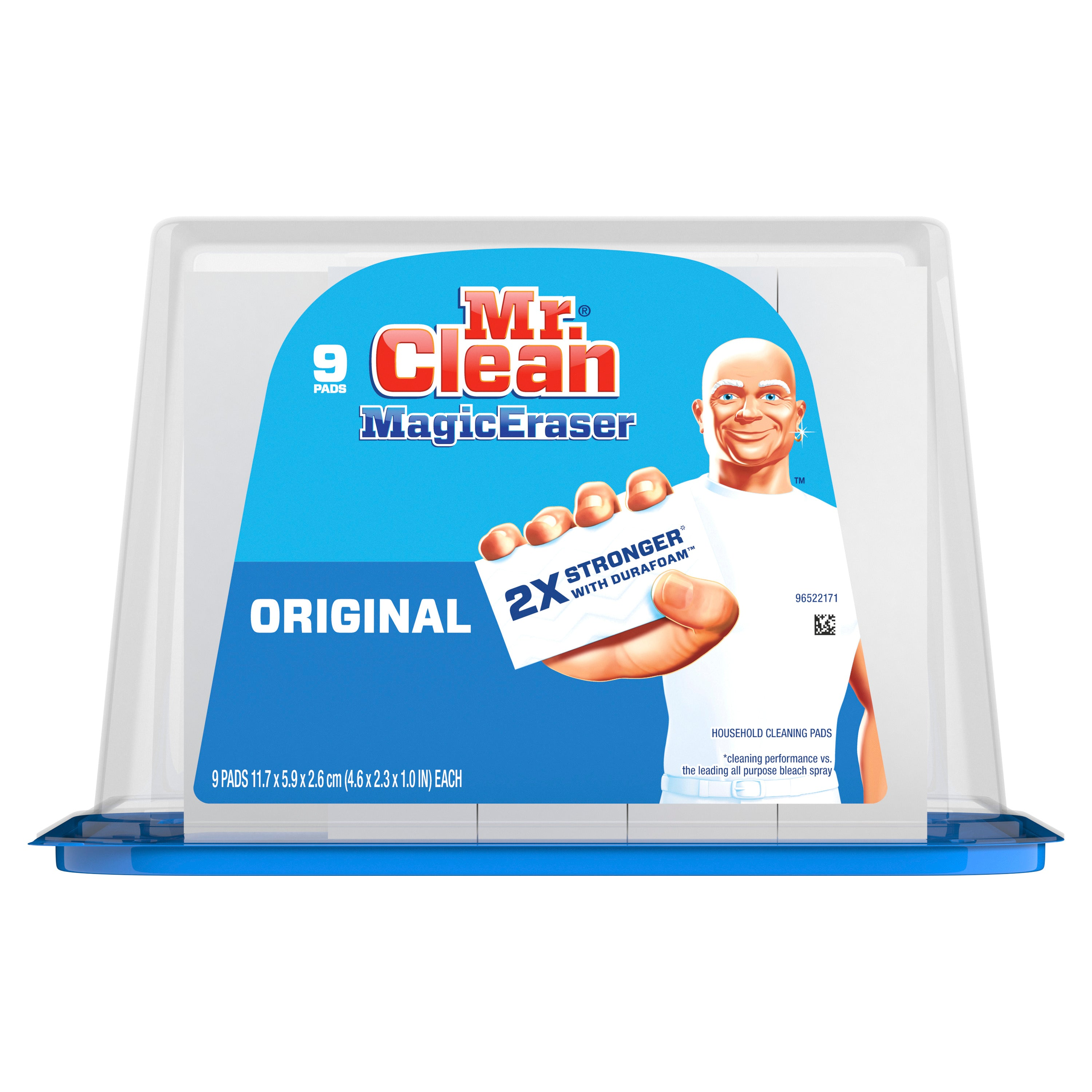 Mr. Clean Magic Eraser Original Cleaning Pads with Durafoam, 9 Ct - FLJ CORPORATIONS
