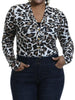 Image of Leopard Print Coveralls Jumpsuit - FLJ CORPORATIONS