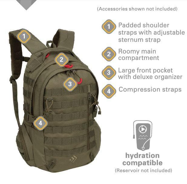 Outdoor Quest Backpack - FLJ CORPORATIONS