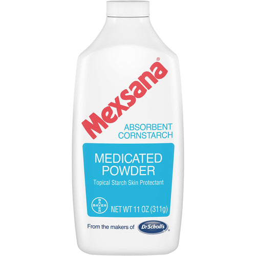 Mexsana Medicated Powder, Skin Protectant Irritation Relief, 11 Oz - FLJ CORPORATIONS