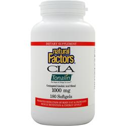 Natural Factors CLA Tonalin (1000mg) 180 sgels - FLJ CORPORATIONS