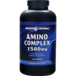 BodyStrong Amino Complex (1500mg) 360 tabs - FLJ CORPORATIONS