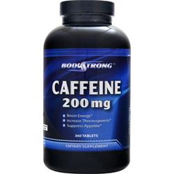 BodyStrong Caffeine (200mg) 360 tabs - FLJ CORPORATIONS